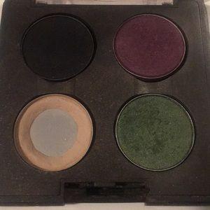 MAC eyeshadows and quad
